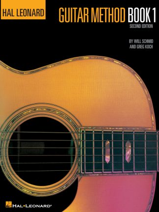 NEW Hal Leonard (HL00699010) Guitar Method Book 1