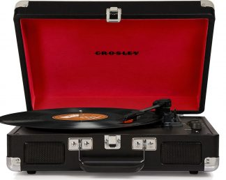 NEW Crosley (CR8005D-BK) Black Cruiser Deluxe Turntable