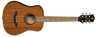 NEW Luna SAF MUS MAH Acoustic Guitar
