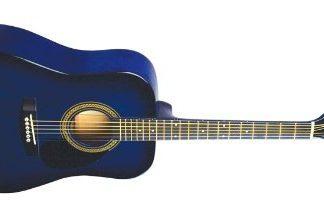 NEW Johnson JG-610-BL-3/4 Blue Acoustic Guitar