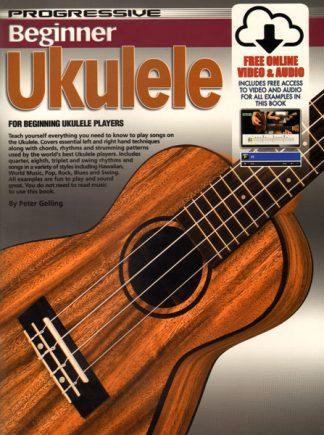 NEW Progressive (11888) Beginner Ukulele Book