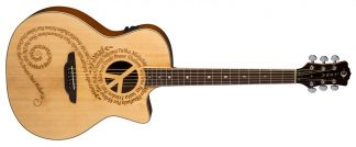 NEW Luna OCL PCE Acoustic Guitar