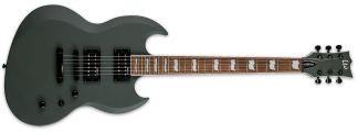 NEW ESP LTD VIPER-256 Military Green Satin Electric Guitar