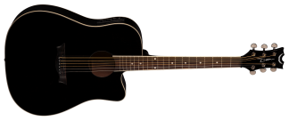 NEW Dean AX DCE CBK Acoustic Guitar