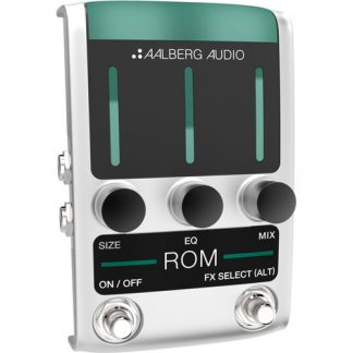 NEW Aalberg Audio (RO-1) ROM Reverb Pedal