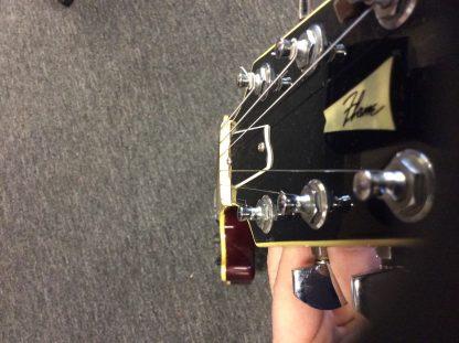 Vintage Fender Flame Electric Guitar