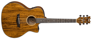 NEW Dean AX E KOA Acoustic Guitar