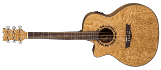 NEW Dean EQAL GN Lefty Acoustic Guitar