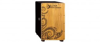 NEW Luna (LPC-BLK) Black Cajon
