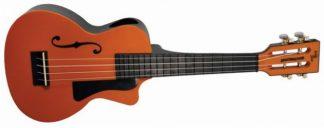 NEW Eddy Finn EF-PCOR Beach Master Orange Concert Ukulele