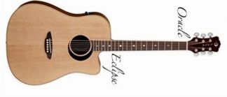 NEW Luna OCL ECL Acoustic Guitar