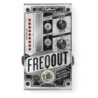 NEW DigiTech (FREQOUT) Natural Feedback Creator Pedal