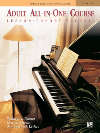 NEW Alfred (5753) Adult All-In-One Course Level 1 Piano Book
