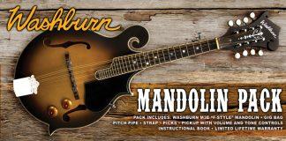 NEW Washburn M3EK-A F Style Mandolin