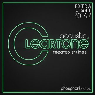 NEW Cleartone (7410) 10-47 Acoustic Guitar Strings