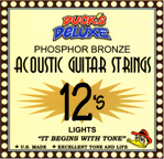 NEW Ducks Deluxe (LIGHTS) 12-53 Acoustic Guitar Strings