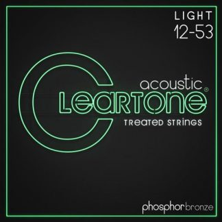 NEW Cleartone (7412) 12-53 Acoustic Guitar Strings
