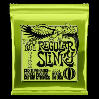 NEW Ernie Ball (2221) 10-46 Regular Electric Guitar Strings