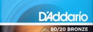 NEW D'Addario Acoustic Guitar Strings