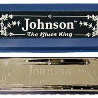NEW Johnson (BK-520-C) Blues King C Harmonica