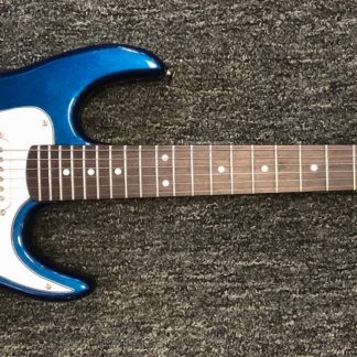 NEW AXL AS-750-3/4-MBL Metallic Blue Electric Guitar