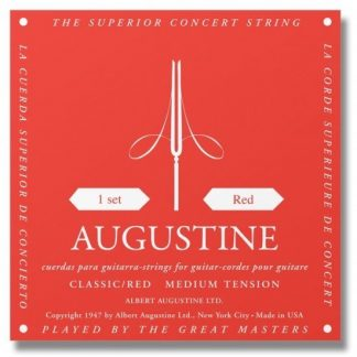 NEW Augustine (AUGR) Red Medium Tension Classical Strings
