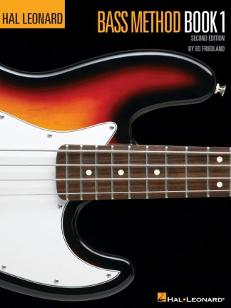 NEW Hal Leonard (HL00695067) Bass Method Book 1