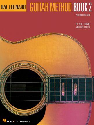 NEW Hal Leonard (HL00699020) Guitar Method Book 2