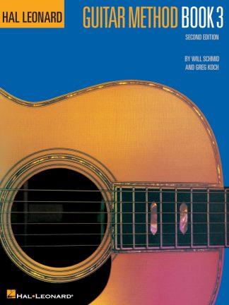 NEW Hal Leonard (HL00699030) Guitar Method Book 3