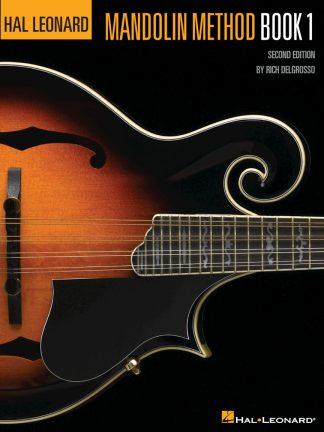 NEW Hal Leonard (HL00699296) Mandolin Method Book 1