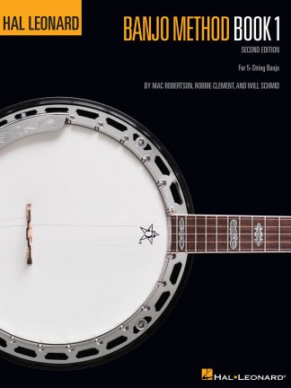NEW Hal Leonard (HL00699500) Banjo Method Book 1