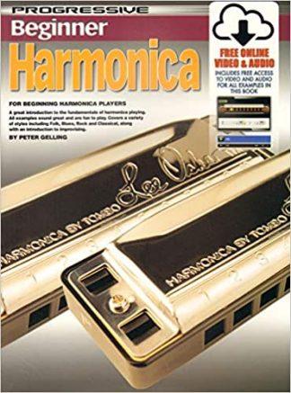 NEW Koala (69171) Progressive Beginner Harmonica Book