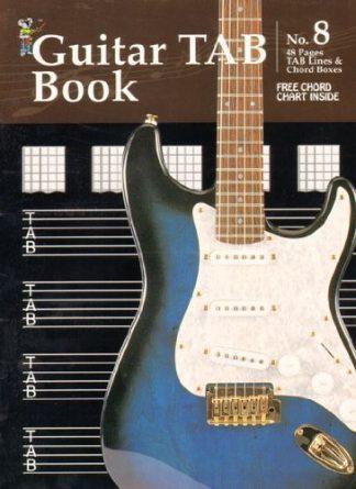 NEW Koala (11829) Manuscript No 8 Guitar Tab Book