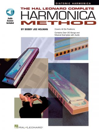 NEW Hal Leonard (HL00841285) Complete Diatonic Harmonica Method Book
