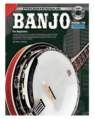 NEW Koala (69260) Progressive Banjo Book