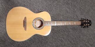 NEW Luna ART DECO Acoustic Guitar