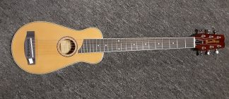 NEW Guitar Works SO-GWG-TR1 Travel Size Acoustic Guitar