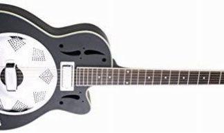 NEW Savannah SR-520-CEBM Swamp Stomper Resonator Guitar