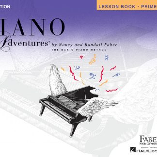 NEW Hal Leonard (HL00420168) Piano Adventures Primer Level Lesson Book